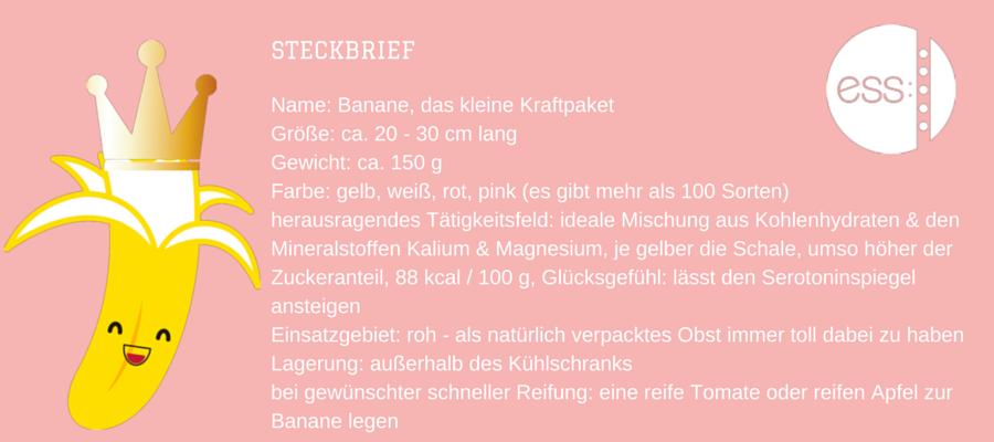 Mitarbeiterin des Monats MAI - die Banane
