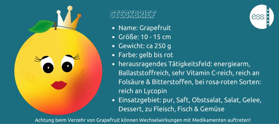 Grapefruit ESS: Praxis für Ernährungsberatung und -therapie Stephanie Siegert Dortmund Februar saisonales Obst und Gemüse